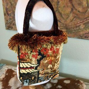 Bonnie Martin Designs Pagoda carpet Boho fringe